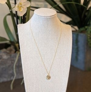 Jewelry - Gold necklace with moon and stars